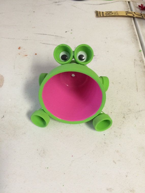 Mini frog terra cotta pot by TerraCottaPotPeople on Etsy