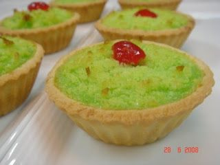 Yochana S Cake Delight Pandan Coconut Tarts Sweet Pastries Coconut Tart Tart
