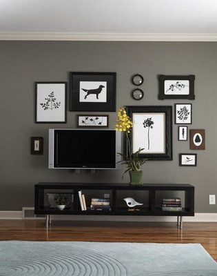 Rocky Bella My New Hall Decor Part 2 Decor Around Tv Living Room Grey Tv Decor