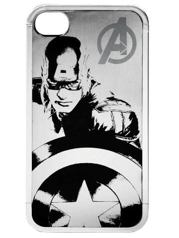 Cool Captain America Pattern Protective Case For IPhone 4/4S