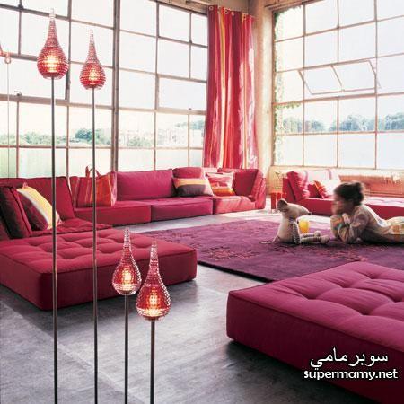ديكورات مجالس عربية صور جلسات الارضيه Floor Seating Living Room Floor Seating Living Room Flooring