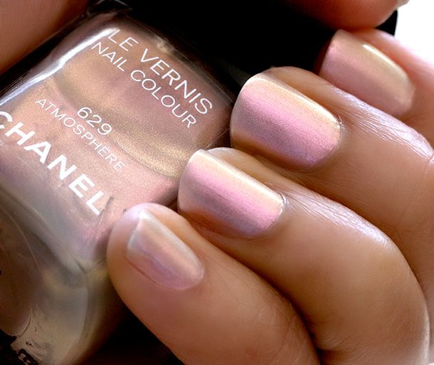 629 Atmosphere Le Vernis Nail Color from the new Chanel Collection ...