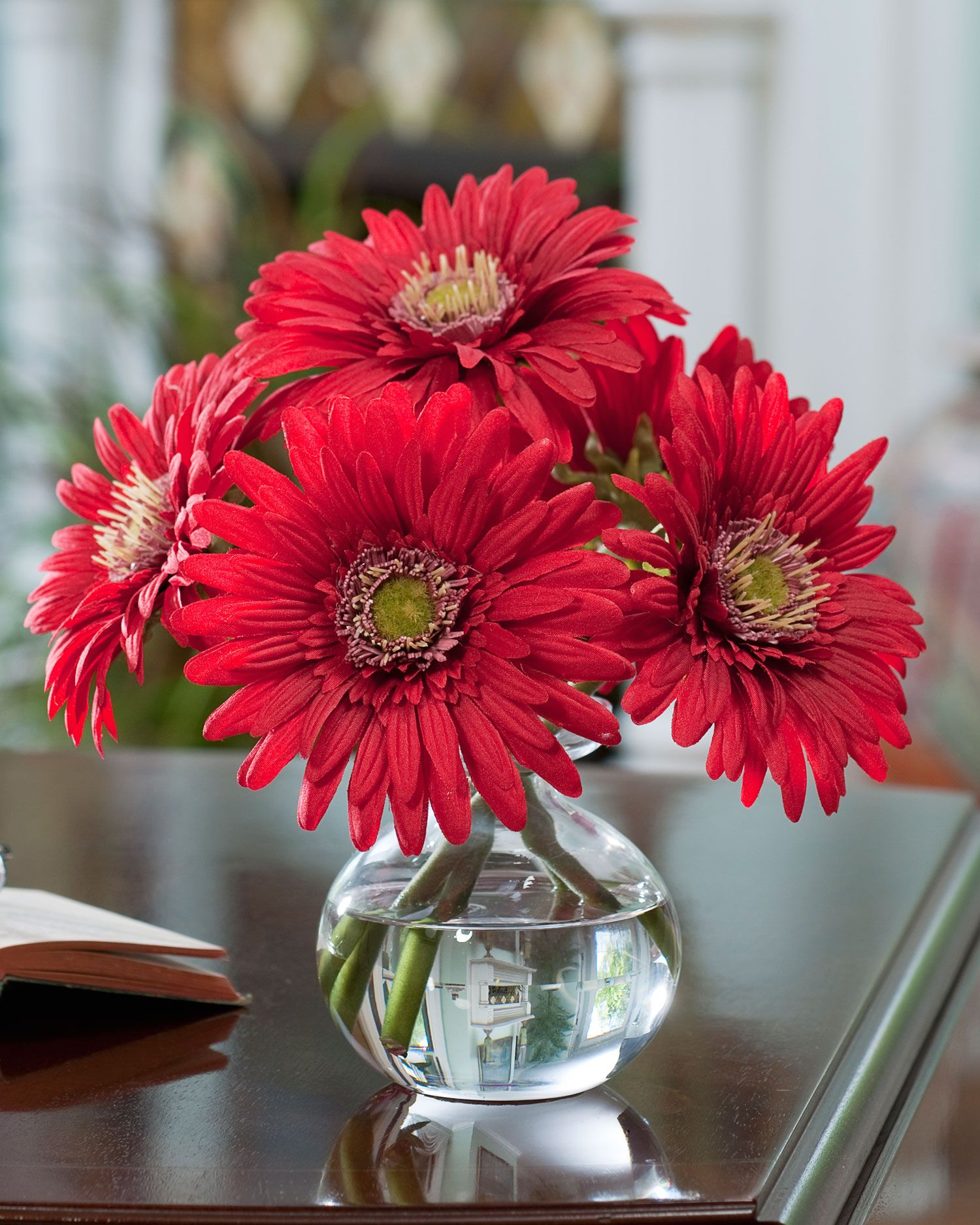Pin by thuy nguyen on vase pinterest gerbera and flowers shop silk gerbera daisy arrangements in a variety of colors add a spot of happy color to your interior at petals reviewsmspy