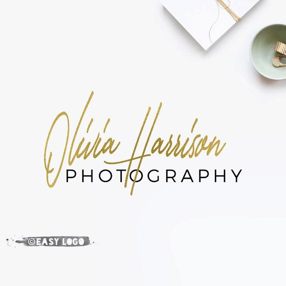 Simple Signature Logo. Calligraphy Font Logo Design. by easylogo