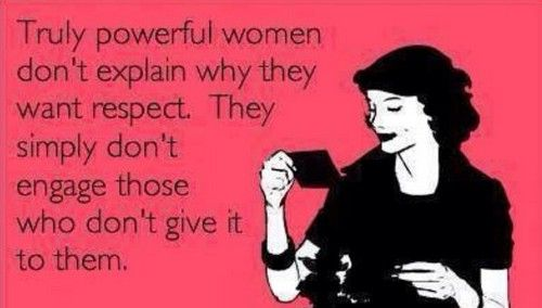 Demand #RESPECT