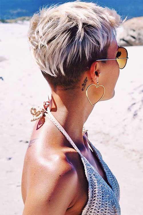 Blonde Kurze Haare Ideen Für Damen Frisuren Kurze Blonde