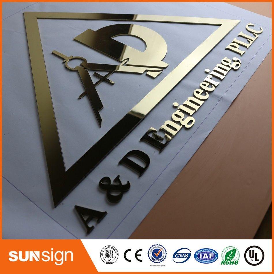 Custom Steel Letters Endearing Custom 3D Stainless Steel Letters Sign Metal Letter Sign Decorating Design