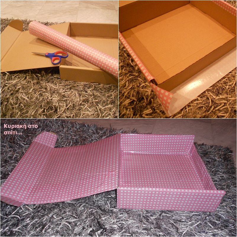 DIY a simple craft box for your supplies! #crafting #storage