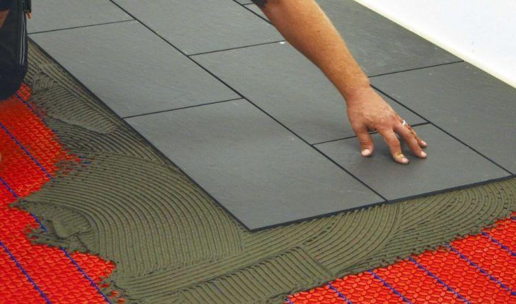 Elektrische Fußbodenheizung Komfort Energieeffizient Kosten Sparen - Fliesen auf fliesen verlegen nachteile