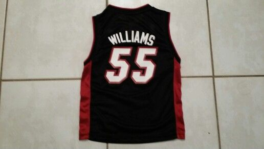 promo code 91128 725ac ADIDAS Miami Heat Jason Williams NBA Jersey | Basketball ...