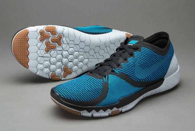 6b3d3fadf9b0 ... Nike Free Trainer 3.0 V4 - Black Blue Lagoon Brigade Blue Pure  Plantinum Men ...