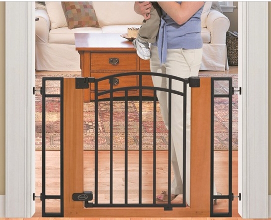 Summer Wood And Metal Baby Gate 39 95 From 79 99 Baby Safety Gate Baby Gates Metal Baby Gate