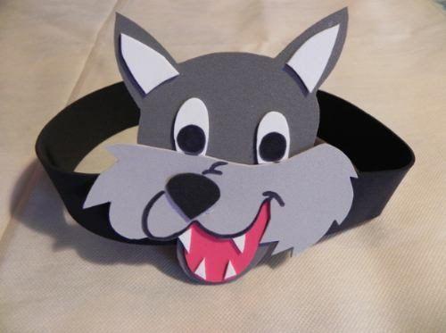 Mascaras de lobos en goma eva - Imagui | los tres cerditos ...