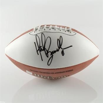 Mark Brunell Hand Autographed Official NFL Pro Quality Wilson Football, Includes Certificate of Authenticity  http://www.propertyroom.com/listing.aspx?l=9589394