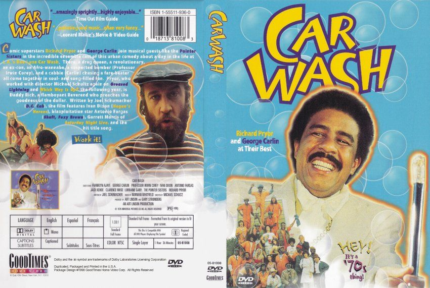 Car Wash 1976 Richard Pryor George Carlin With Images Car
