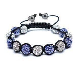 K1s C High Quality Swarovski Shamballa Crystal Disco Ball Bracelet Sapphire Blue By K1s C Cheap Jewelry Online Bracelets Shamballa Bracelets