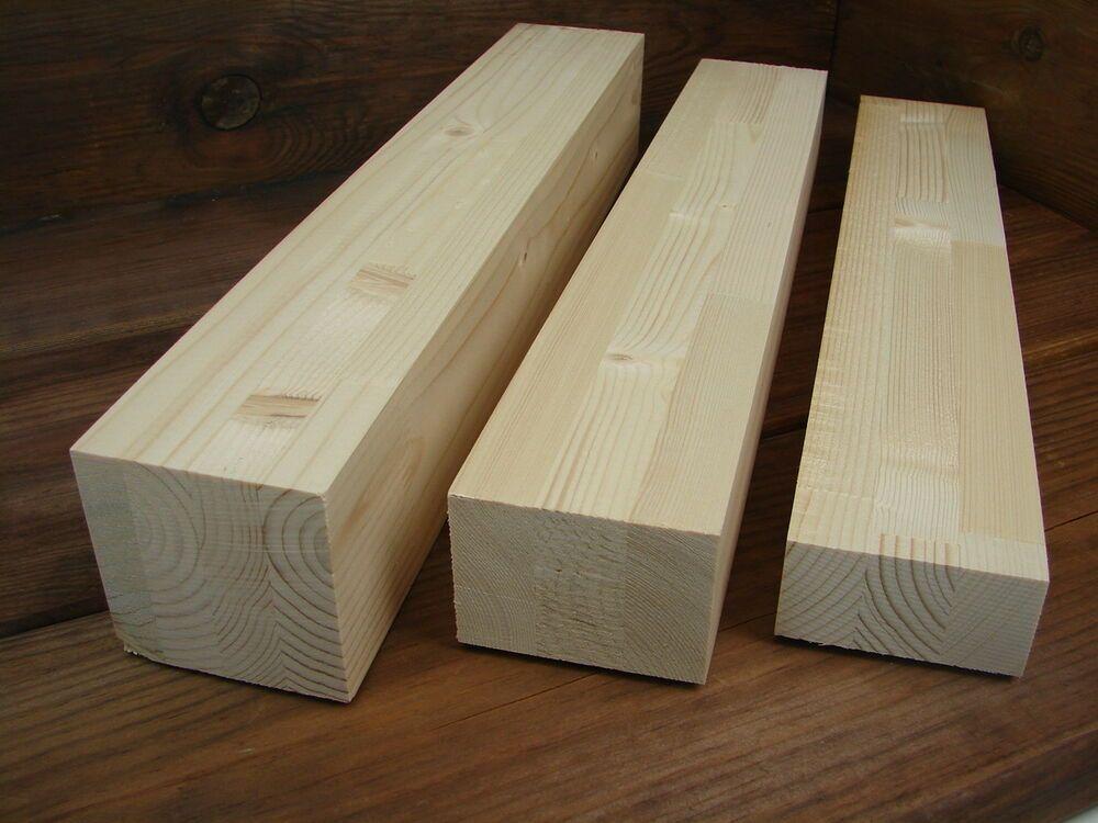 10x Brettschichtholz Leimholz Fichte 480 Mm Leimbinder Versch Masse Holzklotze Holz Leimholz Holzklotz
