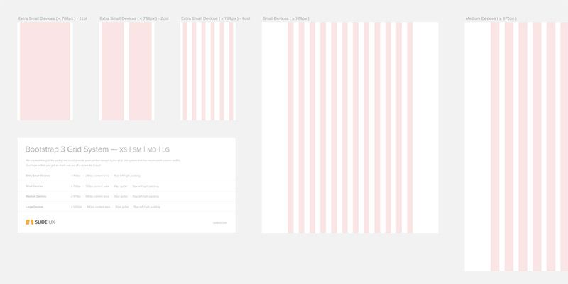 Download Bootstrap 3 Grid Template For Sketch Free Inside Design Blog Web Design Sketch Free Templates