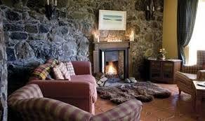 A triple Hebridean by the open fire