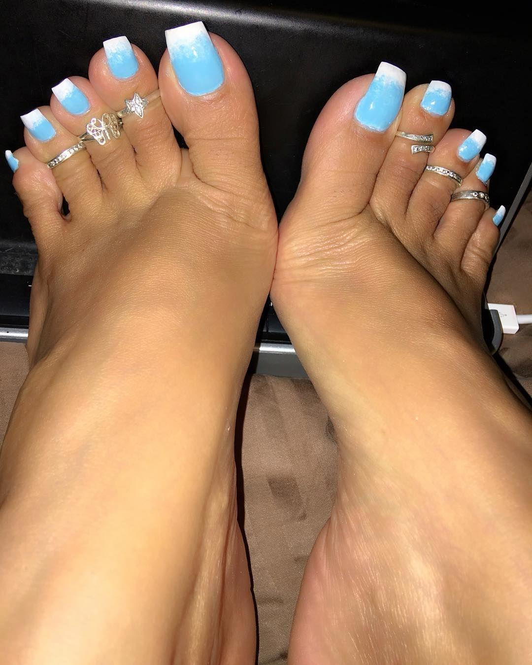 nail long sexy toe
