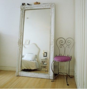 mirror stands large | Wooden clothes hangers + Repurposed | Home ...