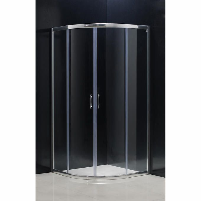 Jade   Alyssa Neo Round Shower Door With Base