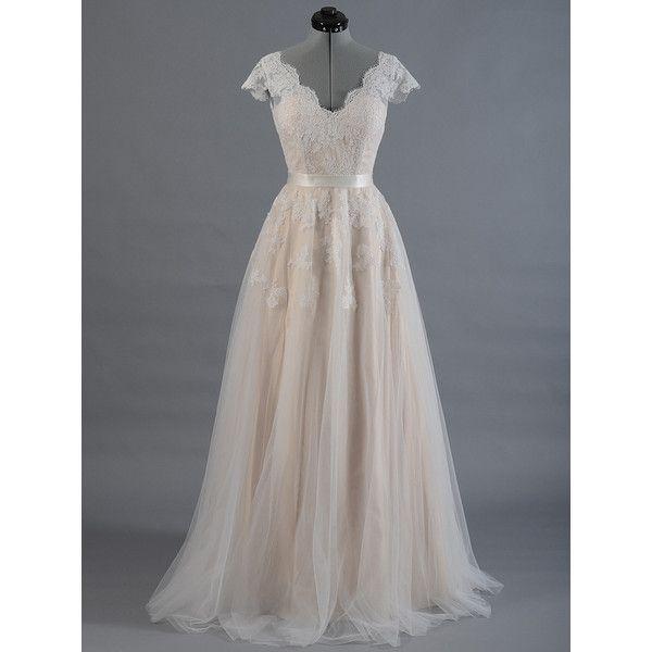 Spitze Brautkleid, Hochzeit Kleid, Hochzeits Kleid, Kappe Hülse ...