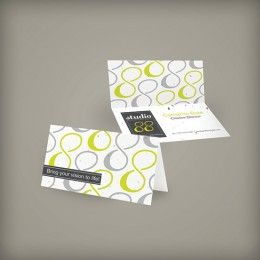 Seed Paper Folded Business Cards Wild Heart Ceremonies Pinterest