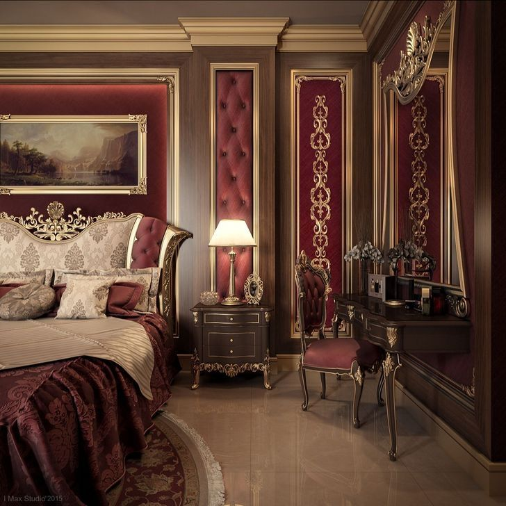Design An Elegant Bedroom In 5 Easy Steps: 99 Comfy Red Bedroom Decorating Ideas For You