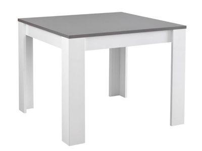 table de repas modena laquee blanc