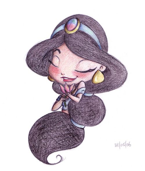 Jasmin Disegni Disney Disegni Principessa E Disegni Kawaii