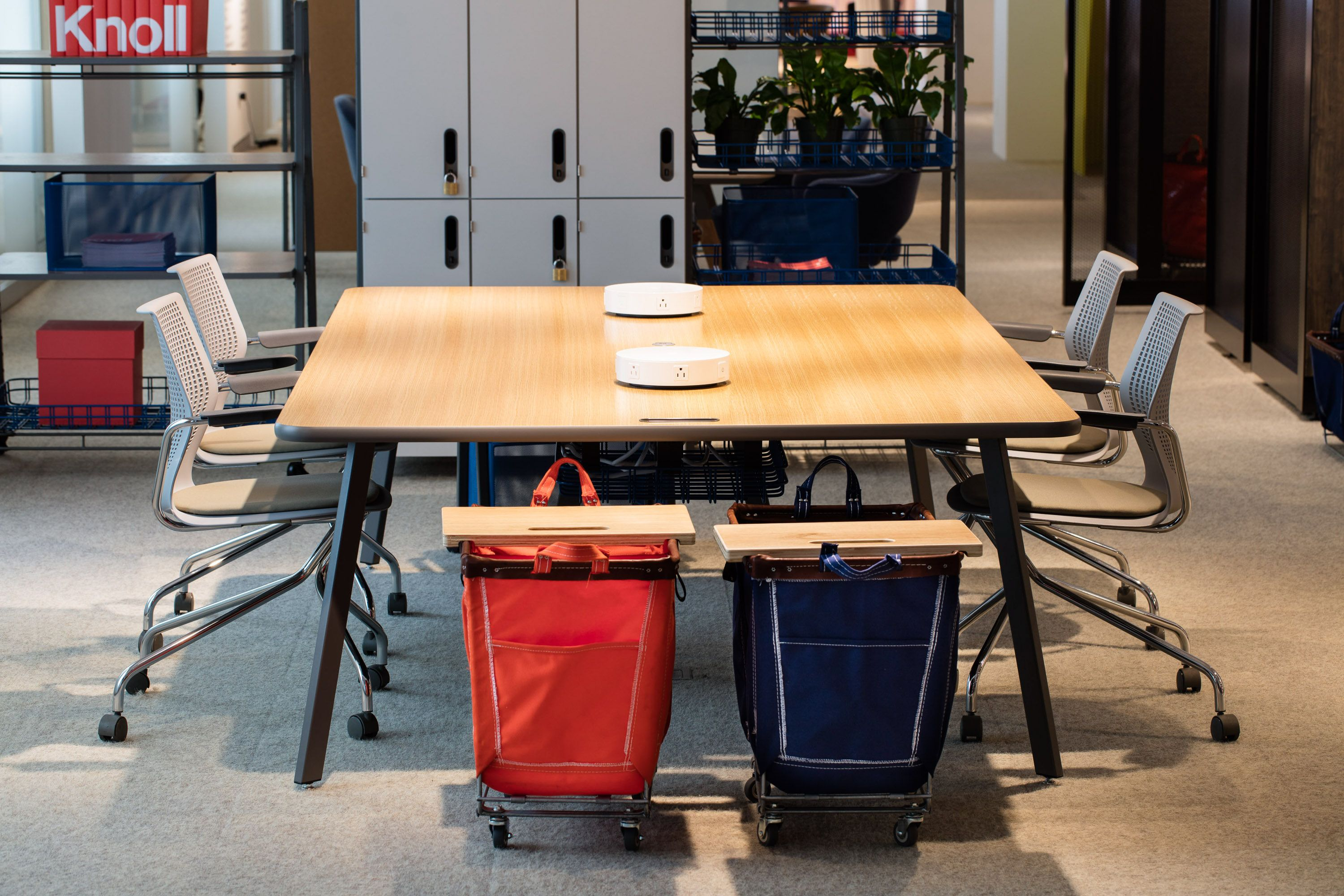 Rockwell Unscripted Easy Table: The Warm Expression Of Wood And Curved  Touchpoints Of Unscripted Tables Bring Hospitality And An Approachable Air  To The ...