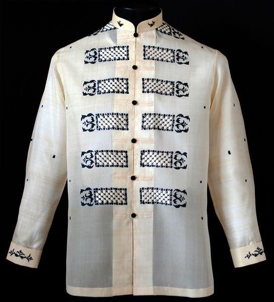 Pina Wedding Gown: Piña-Jusi Barong Tagalog #2024 - XL