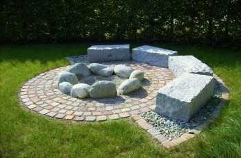 Feuerstelle | Wohnen | Pinterest | Gärten, Feuerstellen und Grillplatz