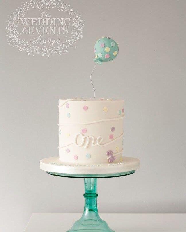 First Birthday Cake Modern Simple Cake For Boys Or Girls Charlie