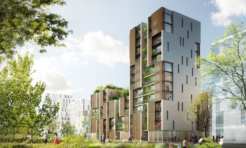 Epingle Par Jadebordas Sur 4vito Architecture De Facade Eco Quartier Architecture Cool