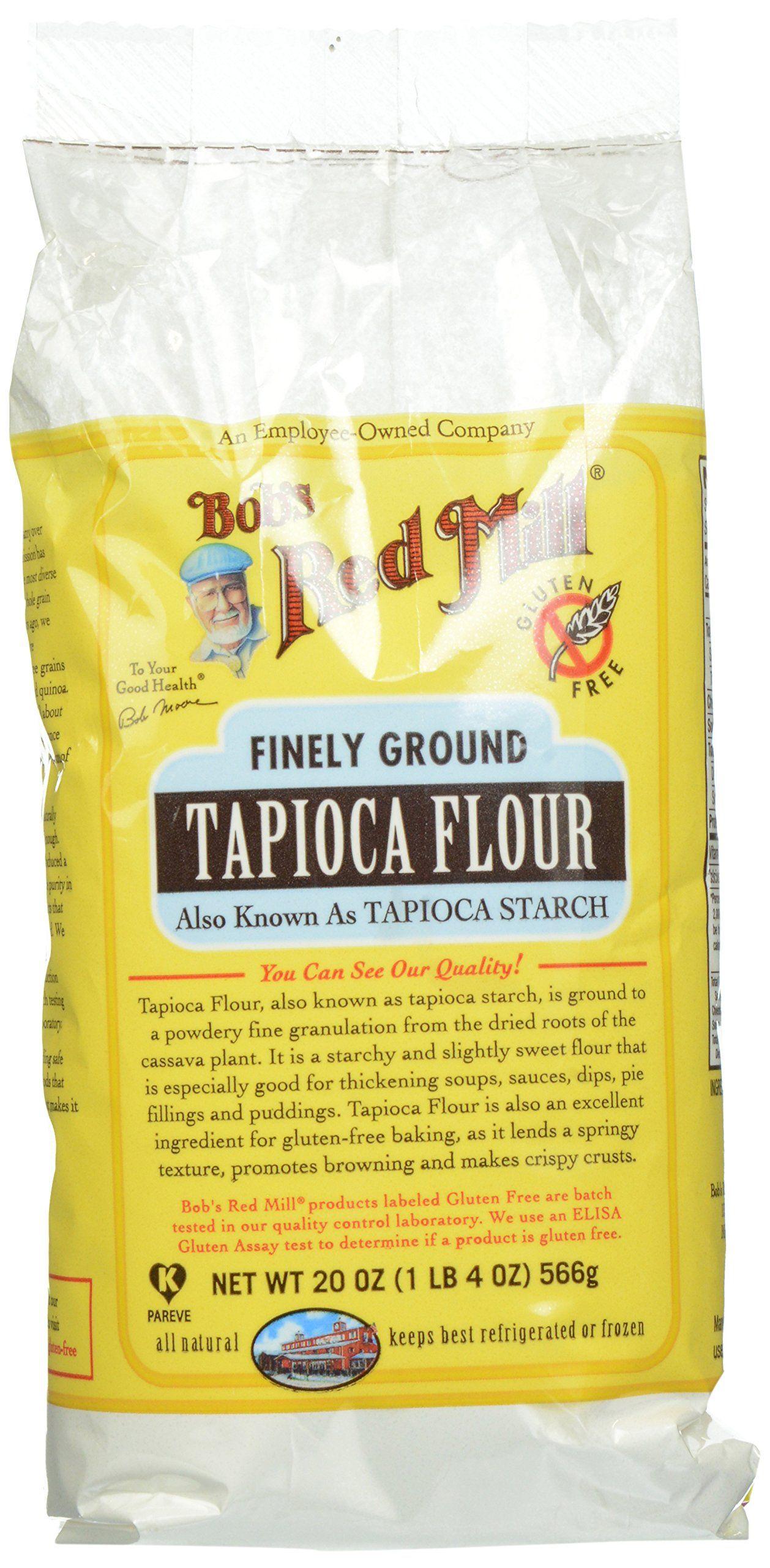 Bobs red mill tapioca flour 20 oz tapioca flour bobs