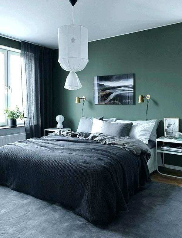 fetching image of bedroom decoration using sage green | gray and sage green bedroom gray and sage green bedroom ...