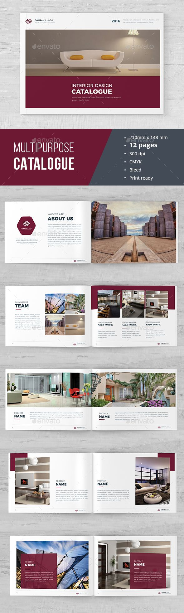 Modern Indesign Catalogue 02 | Revistas