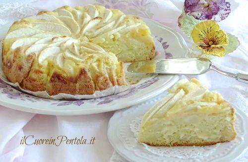 Ricetta torte di mele con crema pasticcera
