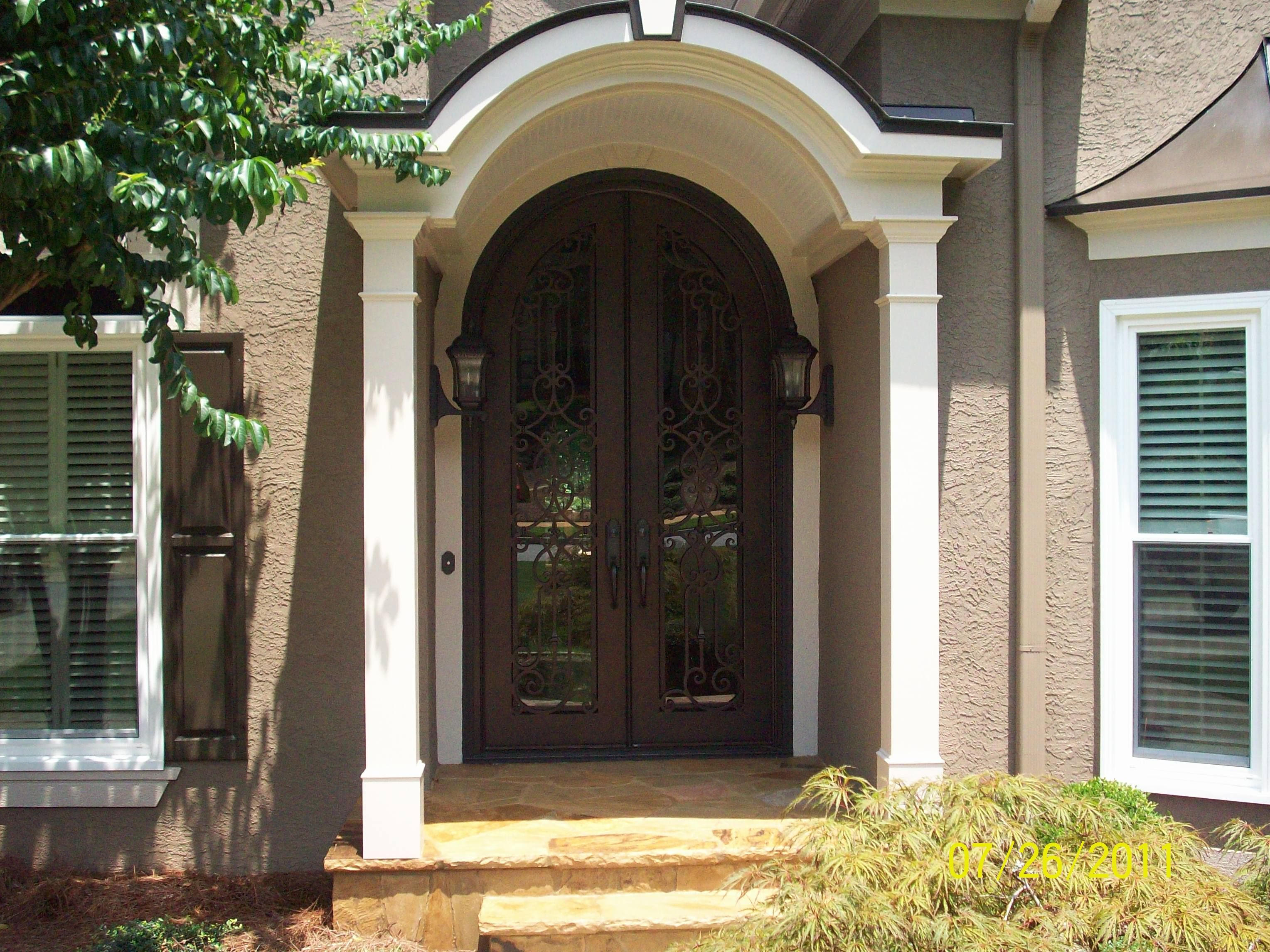 Window And Door Replacement In Atlanta Iron Doors Doors