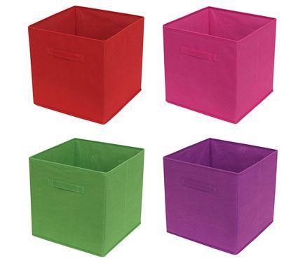 Cesta de tela plegable surtido box leroy merlin compra - Cestas almacenaje ikea ...