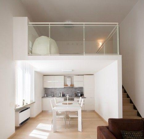 Affitto Loft / Open Space in via Alfieri Torino. Ottimo stato, balcone, riscaldamento centralizzato, 75 mq