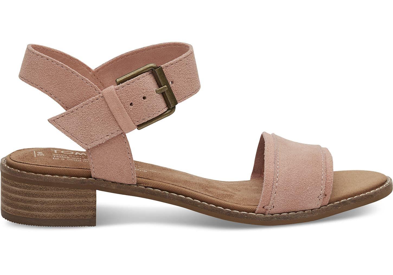 7b3ddf9f4918 Toms Bloom Suede Women s Camilia Sandals - 9