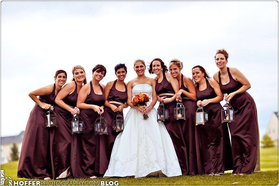 Bridesmaids carry lanterns | Wedding Secret Board | Pinterest ...