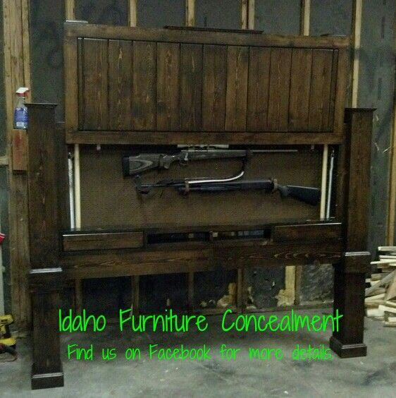 This Is A King Size Gun Concealment Head Board Dimensions Are 80 Wide Hidden Storageammo