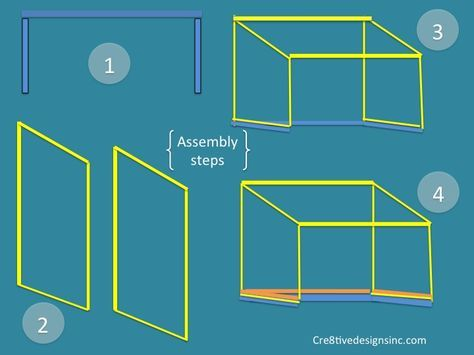 Tabletop Canopy Asembly Instructions Build A Table Diy Table Top Table Top