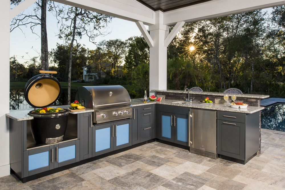 Best L Shaped Outdoor Kitchen Design Inspiration With Images 640 x 480