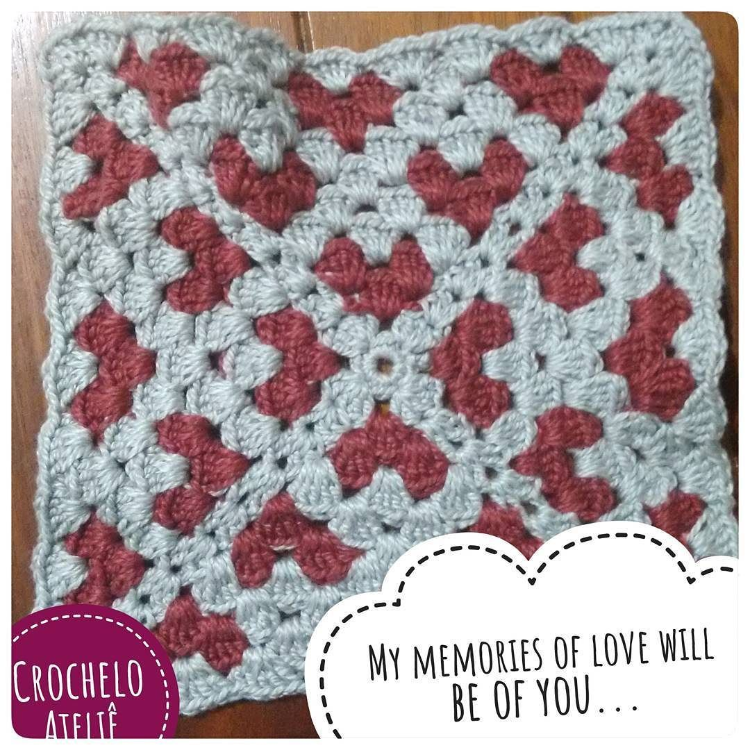 Perhaps love is like the ocean full of conflict full of pain  Like a fire when it's cold outside thunder when it rains  If I should live forever and all my dreams come true  My memories of love will be of you... . . Para hoje um quadradinho cheio de amor.  . . #crochetlover #heart #amor #namorados #croche #artesanato #artesanatobrasil #grannysquare #yarnlovers #diadosnamorados #ilovecrochet #amoprasempre @leparlon
