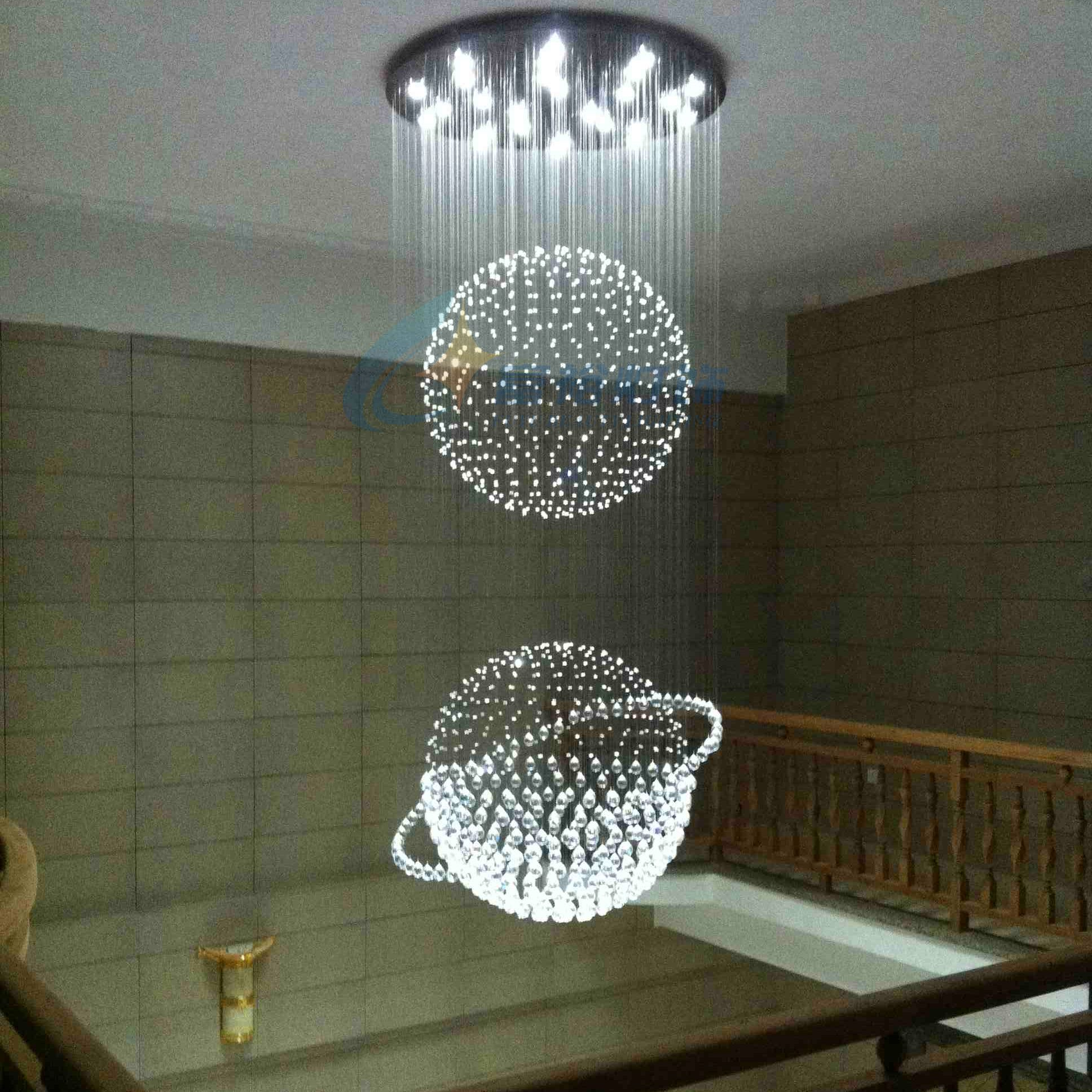buy crystal pendant light led restaurant. Black Bedroom Furniture Sets. Home Design Ideas